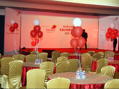 KMC family Day Lighting and Baloon Decoration