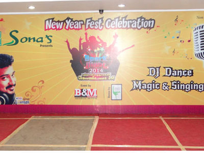 New Year Event Light Party-